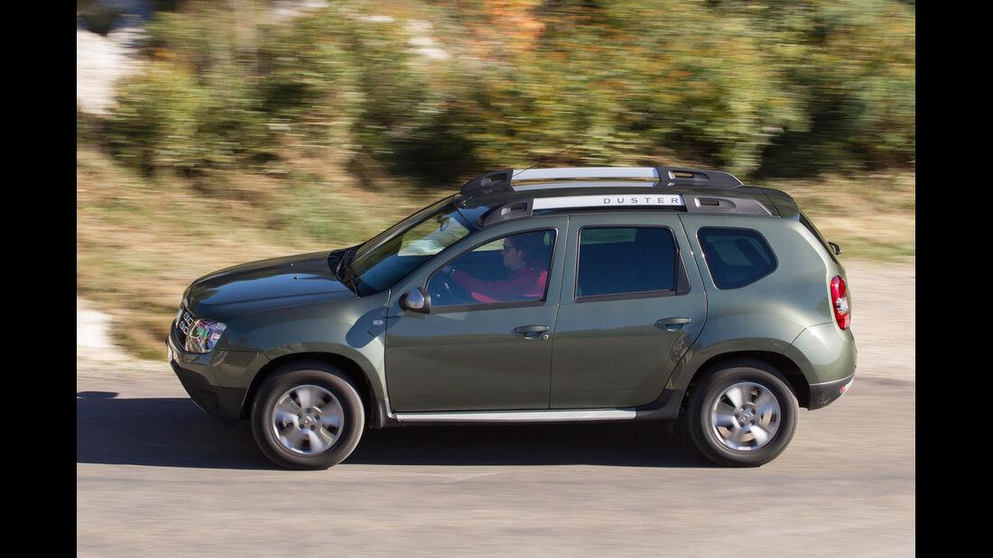 Dacia Duster dCi 110 4x4, Seitenansicht
