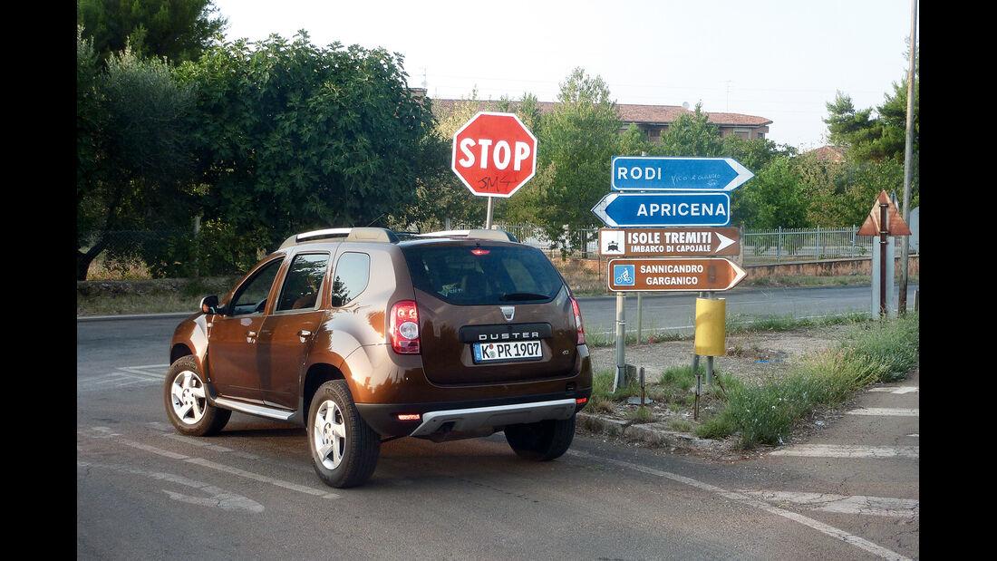 Dacia Duster dci 110 4X4, Heck