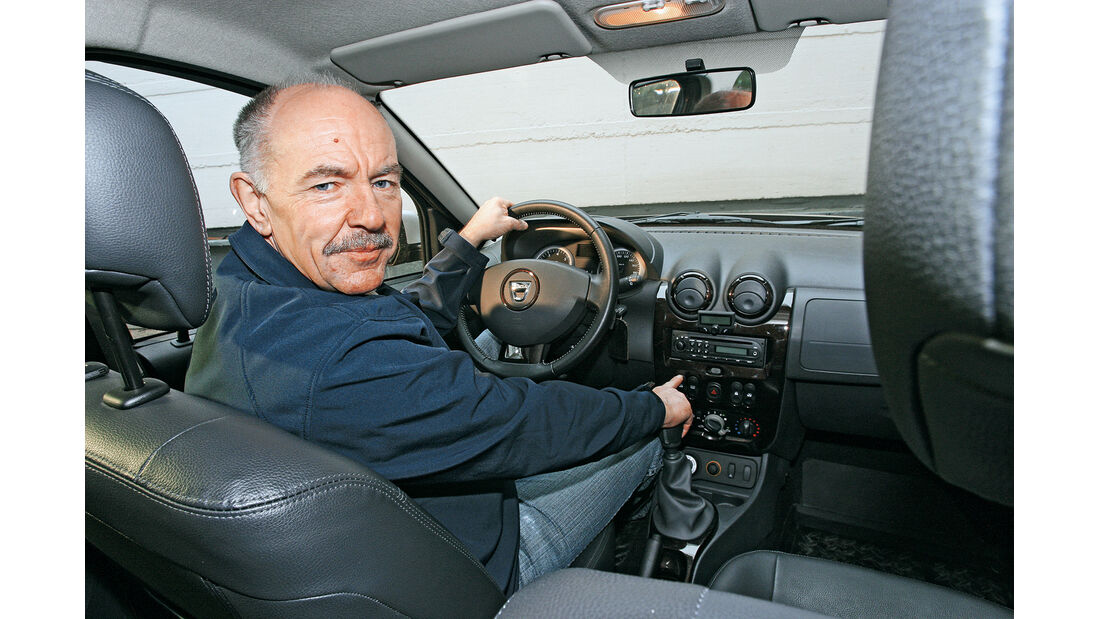 Dacia Duster dci 110 4X4, Konrad Bezold, Cockpit