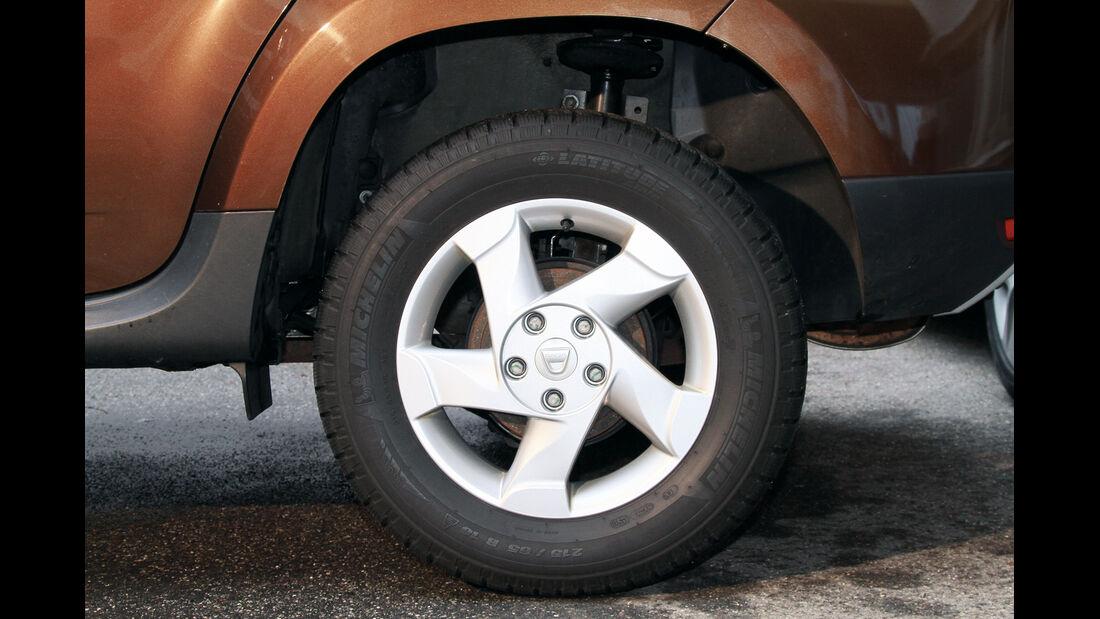 Dacia Duster dci 110 4X4, Rad, Felge