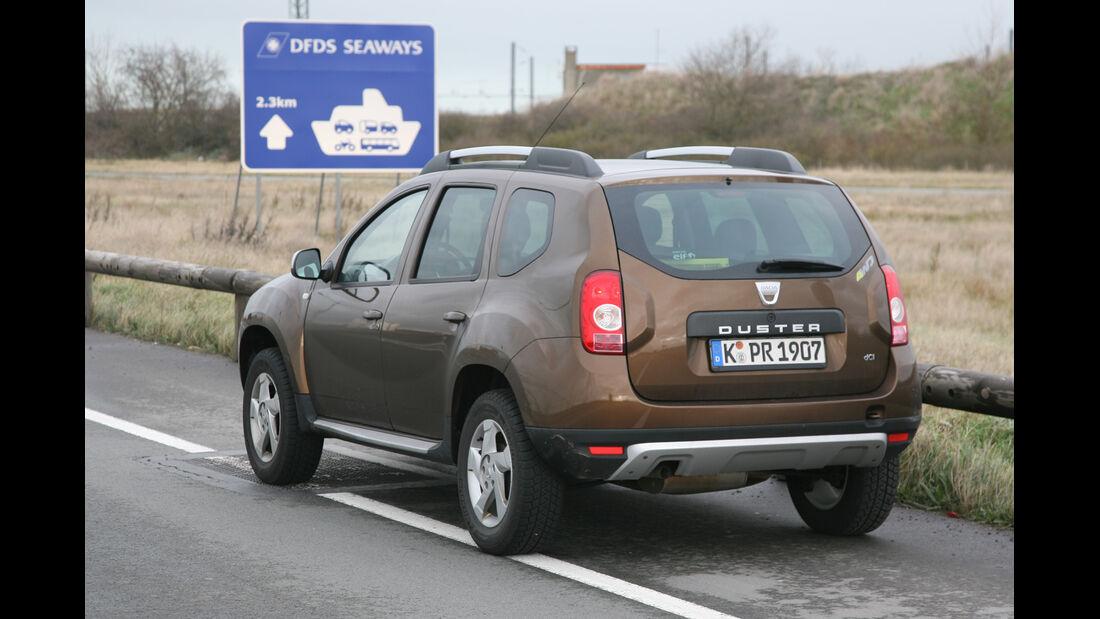 Dacia Duster dci 110 4X4, Verladehafen
