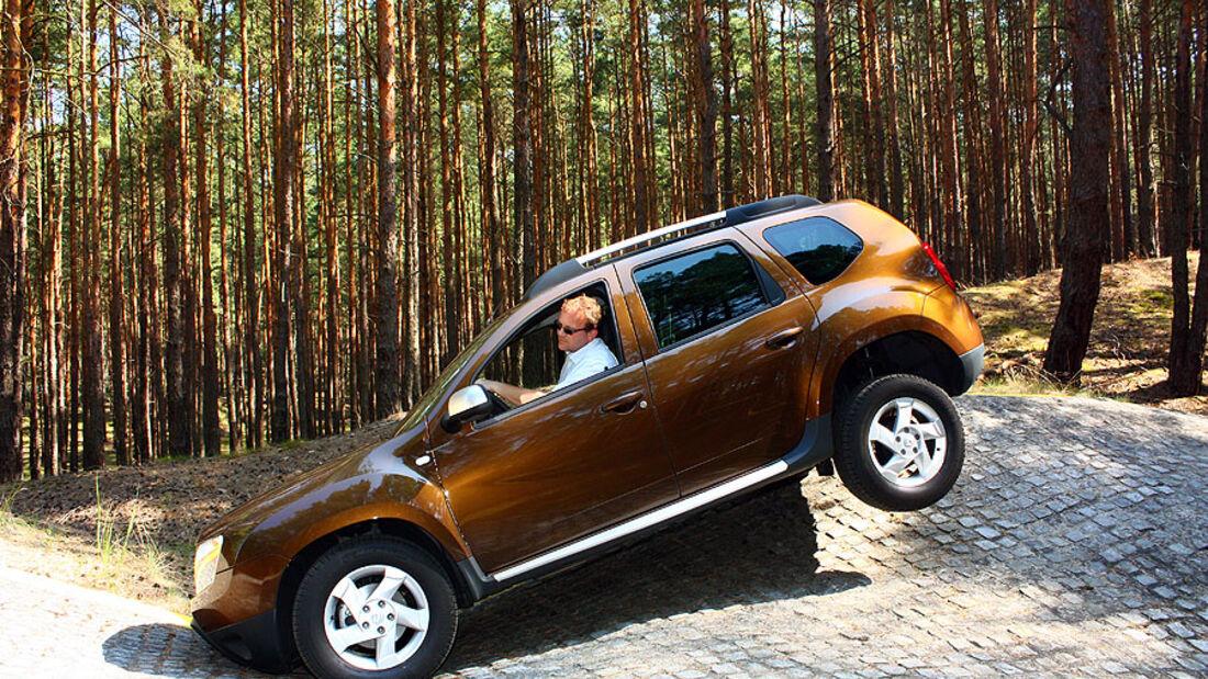 Dacia Duster dci 110 FAP 4x4 Supertest 4wheelfun