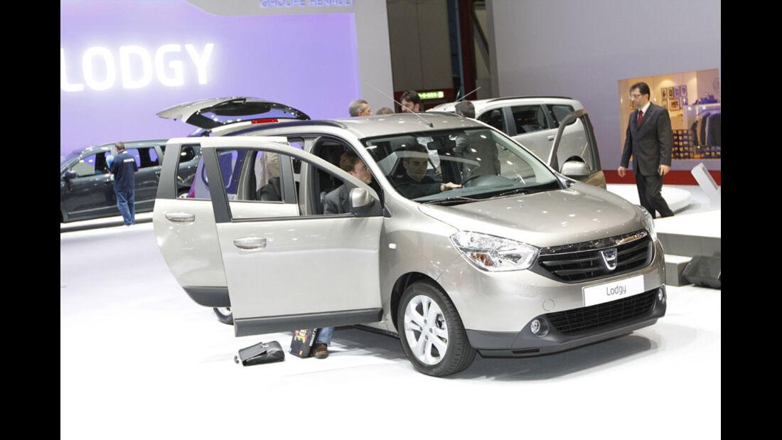 Dacia Lodgy Auto-Salon Genf 2012