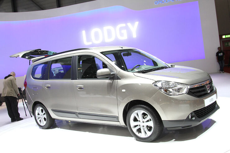 Dacia Lodgy Auto-Salon Genf 2012