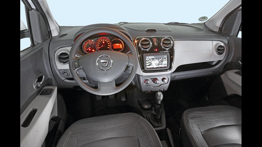 Dacia Lodgy, Cockpit
