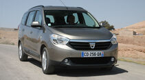 Dacia Lodgy, Frontansicht