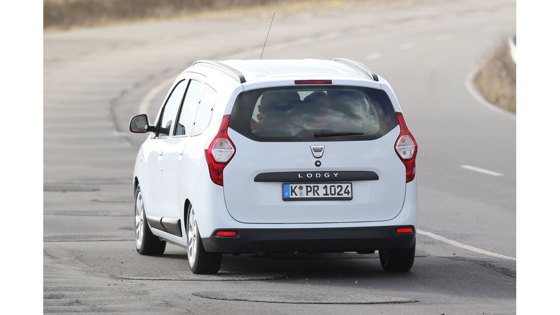 Dacia Lodgy, Heckansicht
