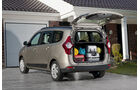Dacia Lodgy, Innenraum, Ablage