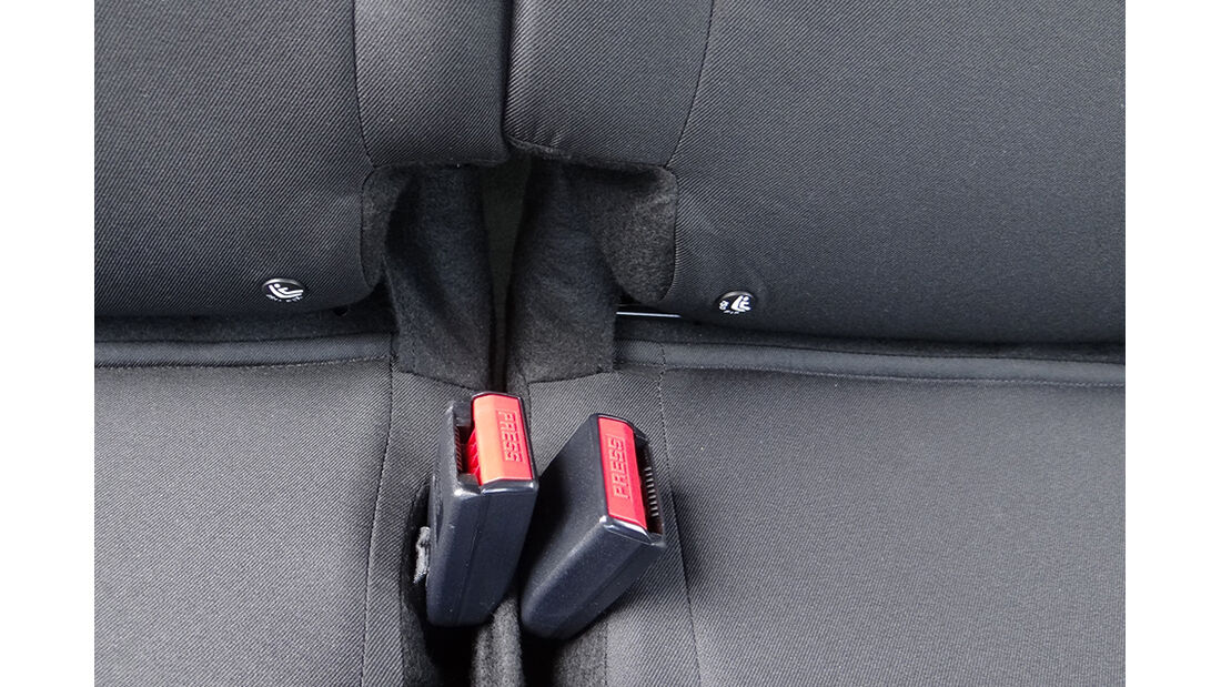 Dacia Lodgy Innenraum-Check, Fond