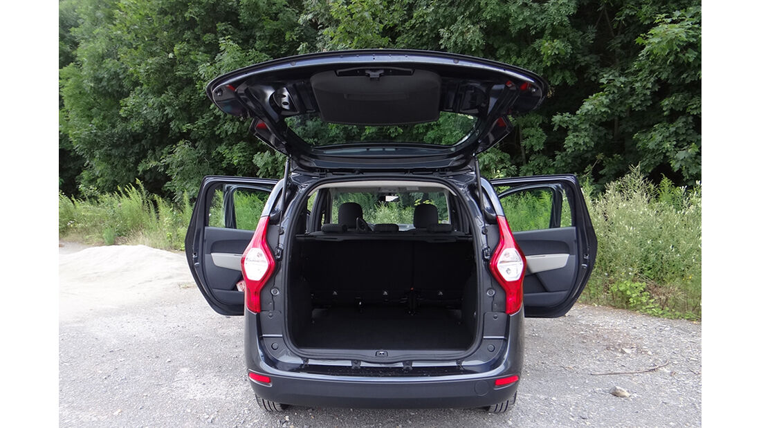 Dacia Lodgy Innenraum-Check, Kofferraum