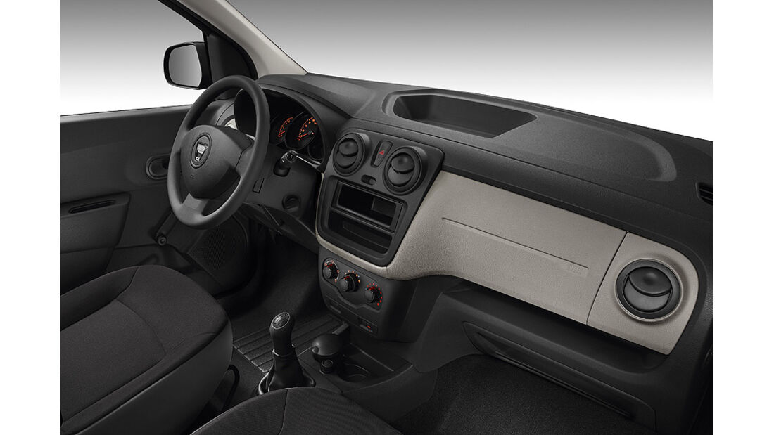 Dacia Lodgy,  Innenraum, Cockpit