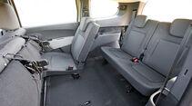 Dacia Lodgy, Rücksitze, Platzangebot