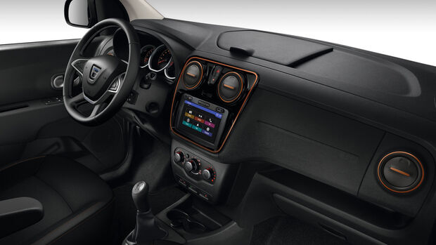 Dacia Lodgy Stepway Cockpit 2019