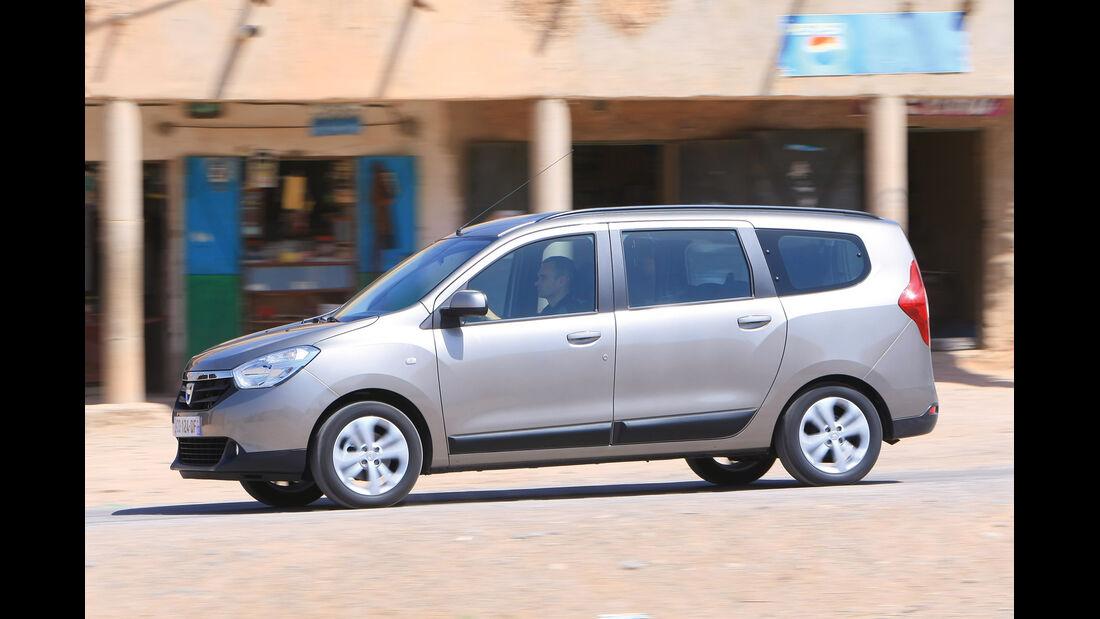 Dacia Lodgy Touran, Seitenansicht