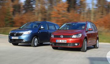 Dacia Lodgy, VW Touran