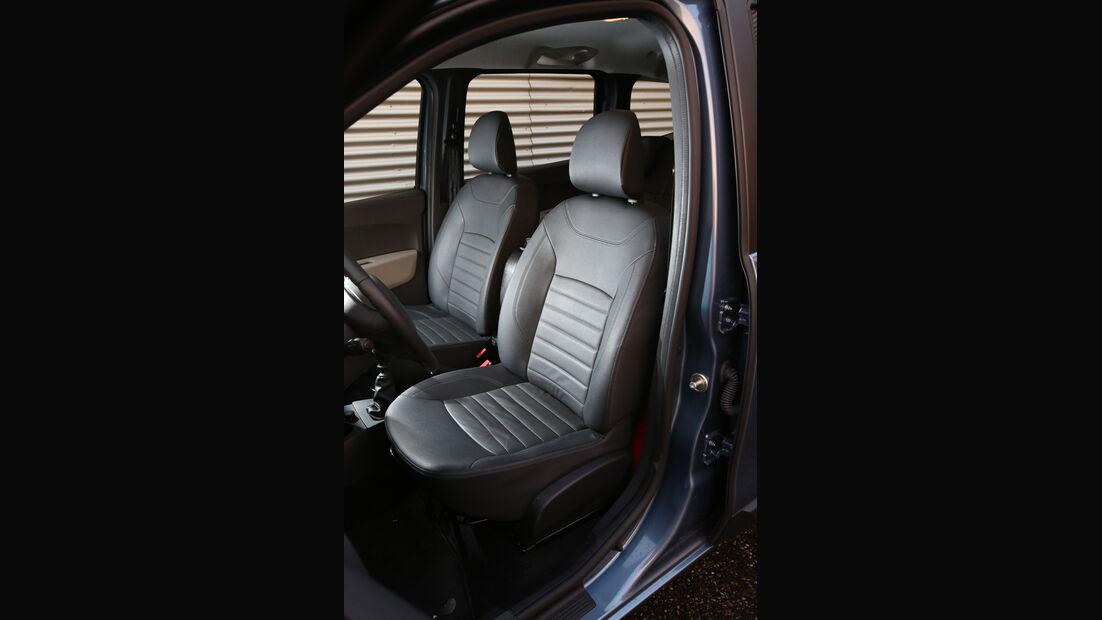 Dacia Lodgy dCi 110, Fahrersitz