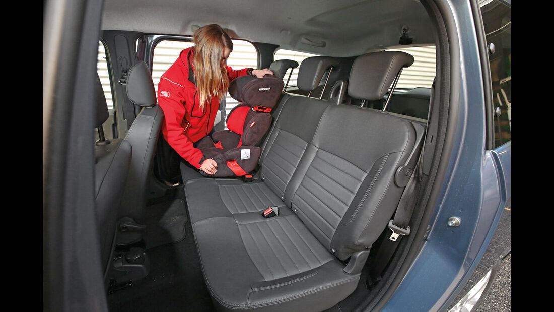 Dacia Lodgy dCi 110, Fondsitze