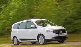 Dacia Lodgy dCi 110, Frontansicht