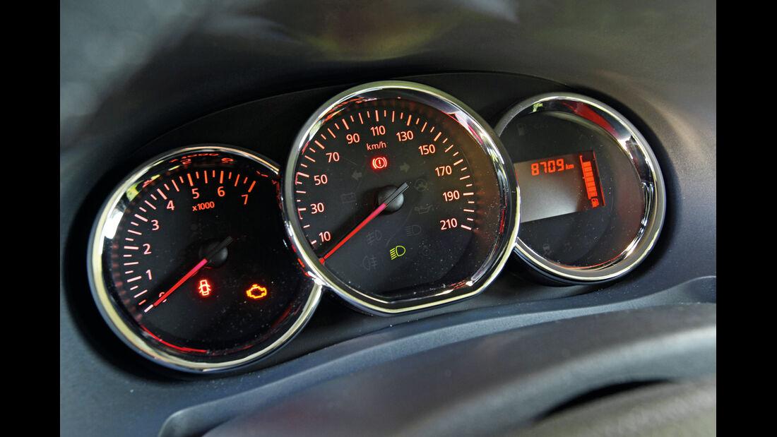 Dacia Lodgy dCi 110, Rundinstrumente
