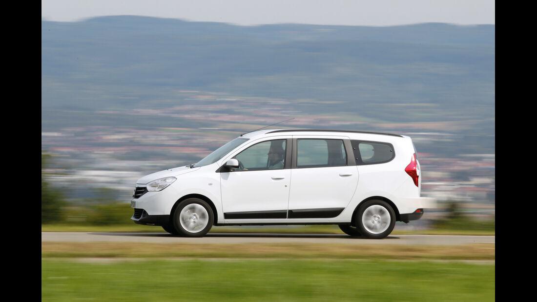 Dacia Lodgy dCi 110, Seitenansicht