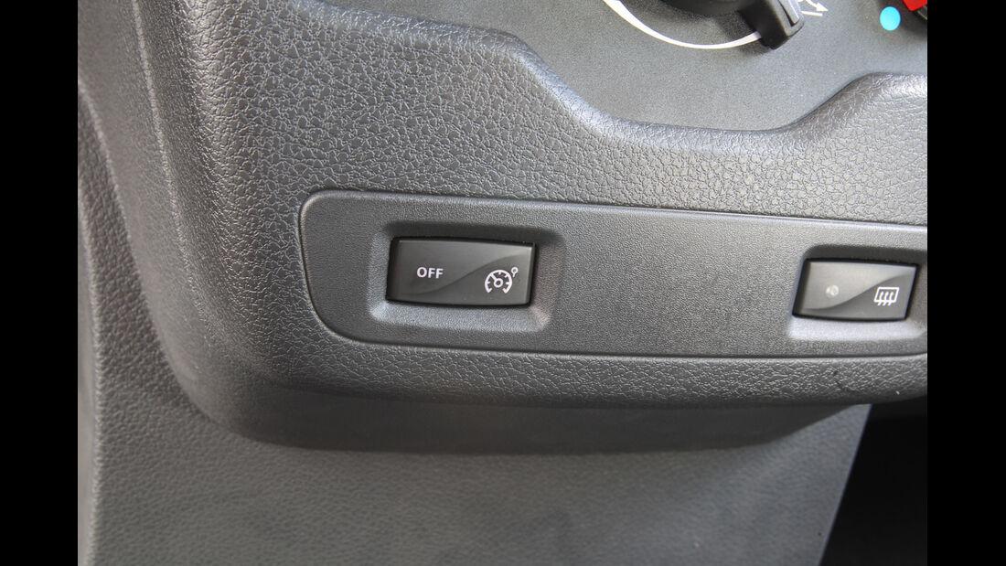 Dacia Lodgy dCi 90, Bedienelemente