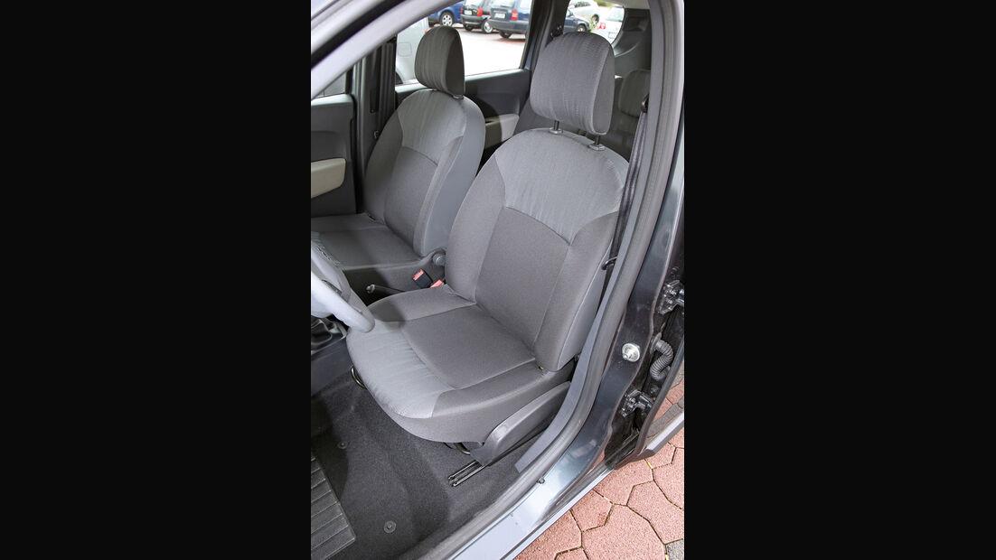 Dacia Lodgy dCi 90, Fahrersitz