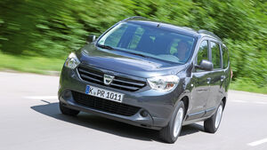 Dacia Lodgy dCi 90, Frontansicht