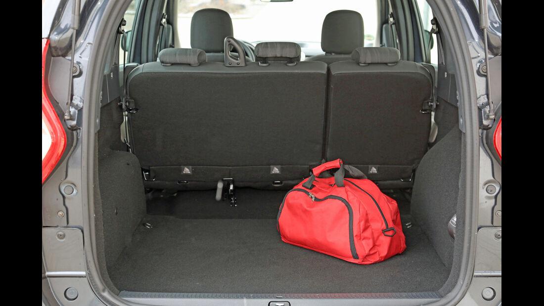 Dacia Lodgy dCi 90, Kofferraum, Ladefläche