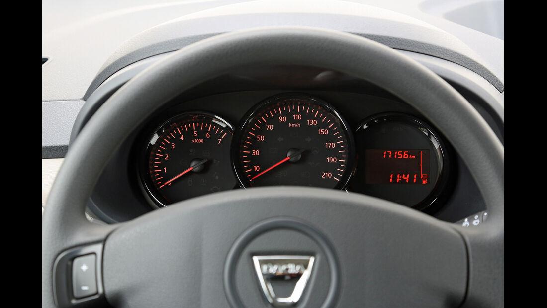 Dacia Lodgy dCi 90, Rundinstrumente