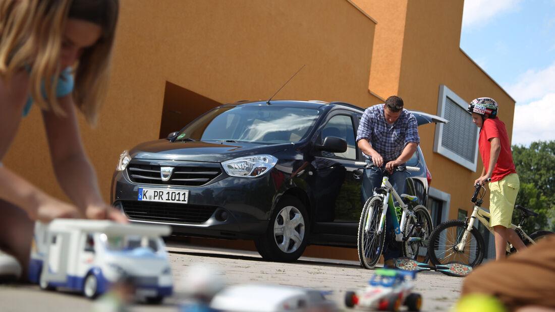 Dacia Lodgy dCi 90, Seitenansicht