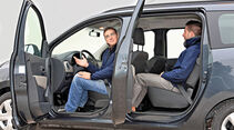 Dacia Lodgy dCi 90, Seitentür, Seitenansicht