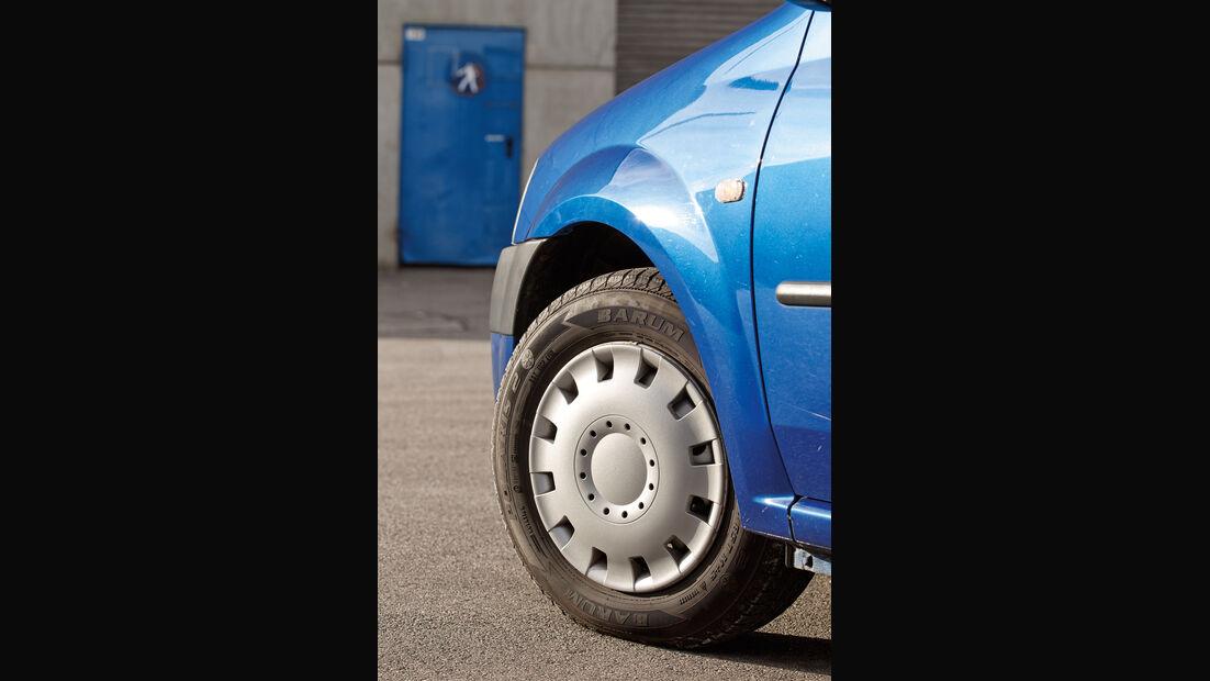 Dacia Logan 1.4 MPI, Rad, Felge