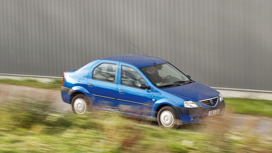 Dacia Logan 1.4 MPI, Seitenansicht