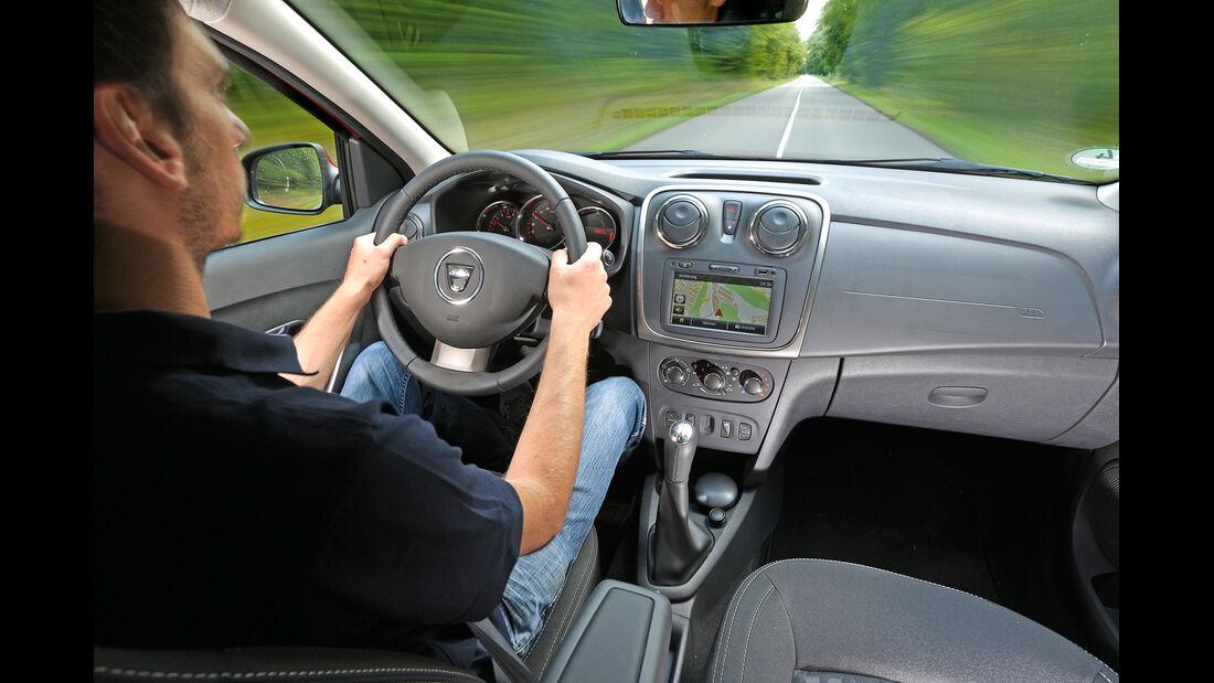 Dacia Logan, Cockpit