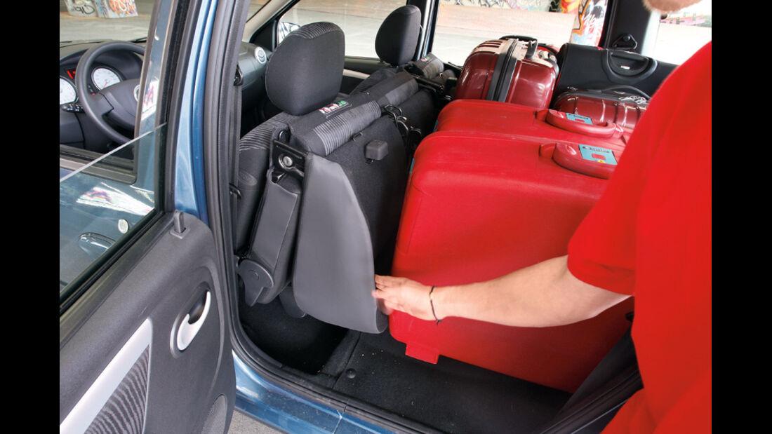 Dacia Logan, Detail Kofferraum