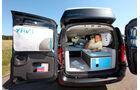 Dacia Logan Kombi, Wohnmobil, Kofferraum