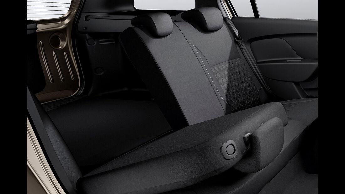 Dacia Logan MCV, Fond, Rückbank