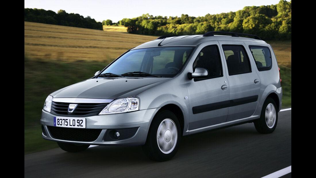 Dacia Logan MCV, Frontansicht