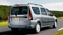 Dacia Logan MCV, Heckansicht