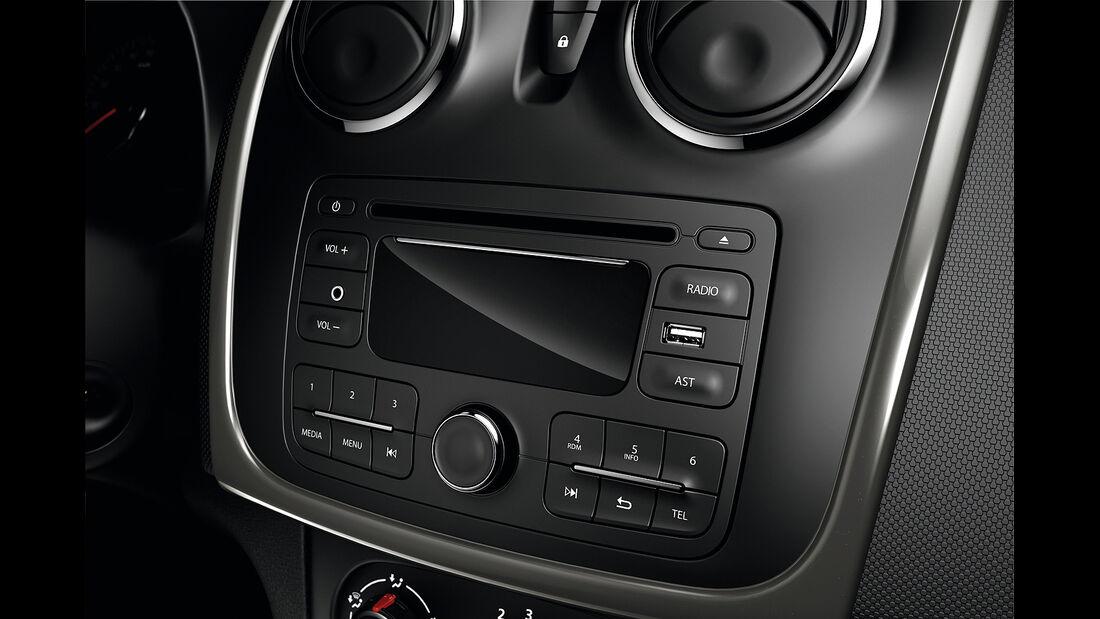 Dacia Logan MCV, Infotainment