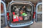 Dacia Logan MCV, Kofferraum