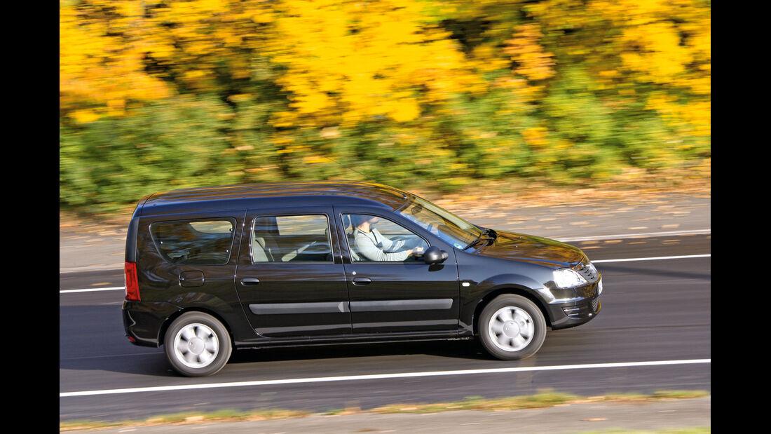 Dacia Logan MCV, Seitenansicht