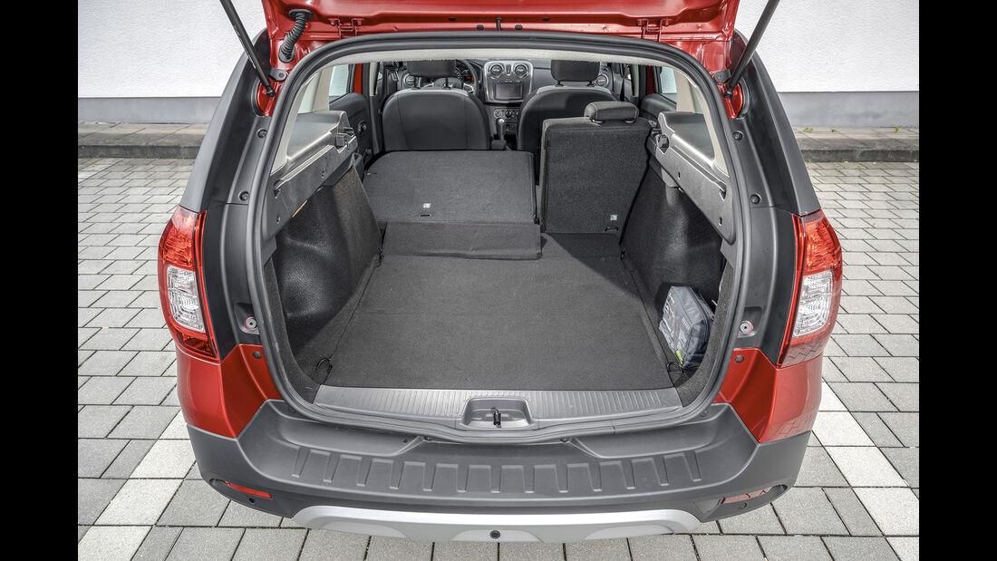 Dacia Logan MCV Stepway Tce 90, Kofferraum