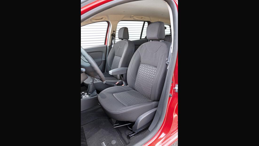 Dacia Logan MCV TCe 90, Fahrersitz