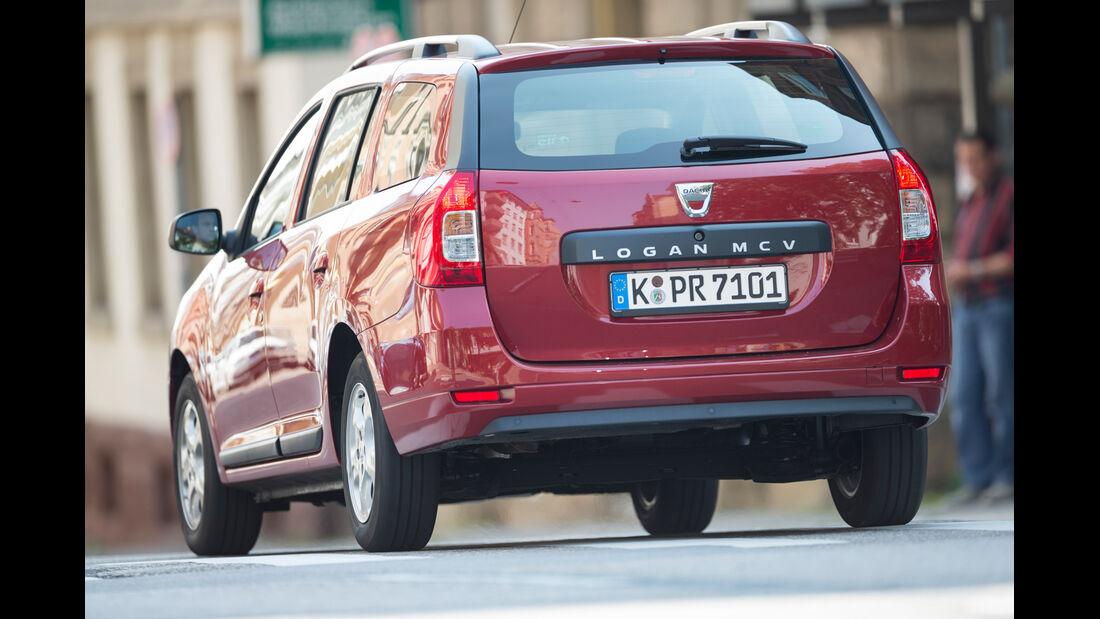 Dacia Logan MCV TCe 90, Heckansicht
