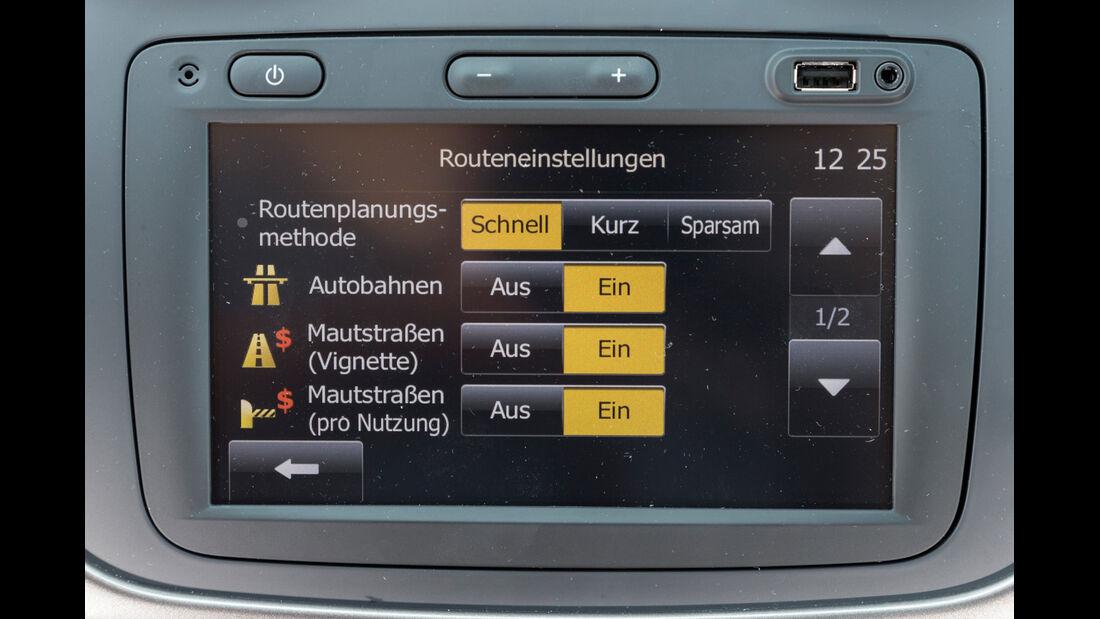 Dacia Logan MCV TCe 90, Infotainment