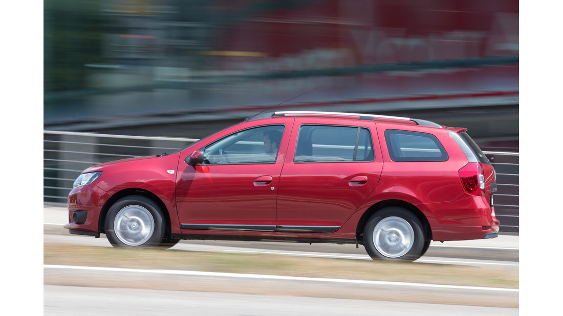 Dacia Logan MCV TCe 90, Seitenansicht