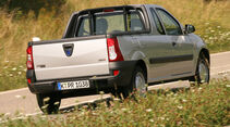 Dacia Logan, Pickup, Heck