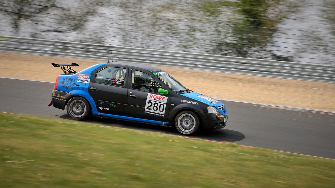 Dacia Logan - Startnummer #280 - SP3 - NLS 2021 - Langstreckenmeisterschaft - Nürburgring - Nordschleife