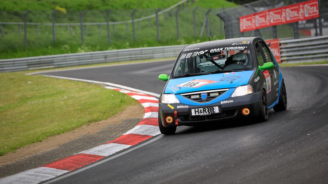 Dacia Logan - Team SwiftWing.de - Startnummer #118 - Klasse: SP 3 - 24h-Rennen - Nürburgring - Nordschleife - 03. - 06. Juni 2021